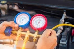 Aircon Gas refill, top up